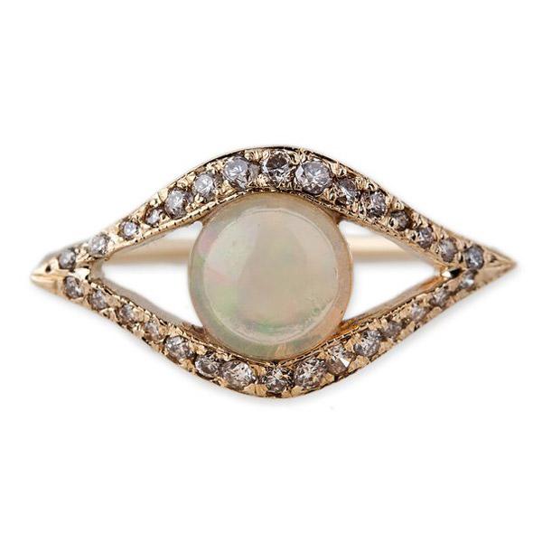 Jacquie Aiche opal eye ring
