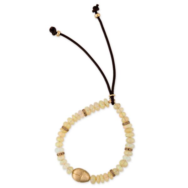 Jacquie Aiche opal scarab bracelet