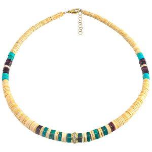 Jenna Blake heishi beaded necklace