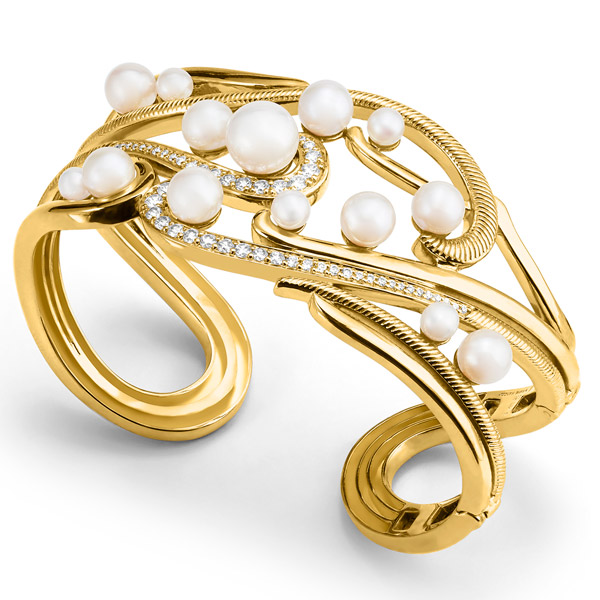 Judith Ripka Shima cuff bracelet