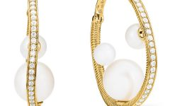 Judith Ripka Shima hoop earrings