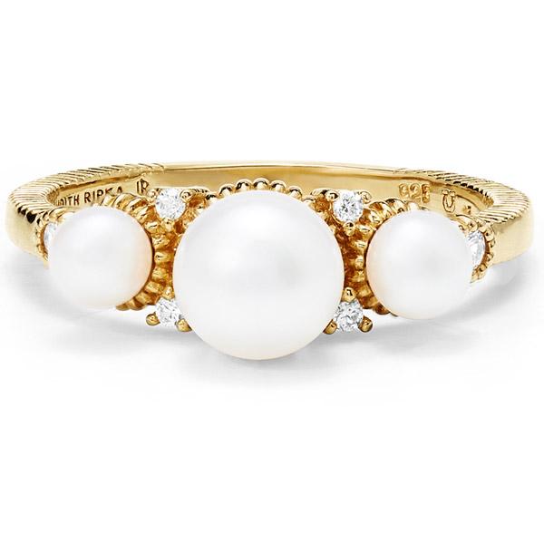 Judith Ripka Shima pearl ring