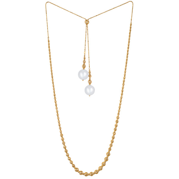 Kapes South Sea pearl adjustable necklace