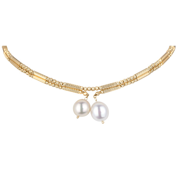 Kapes magnetic pearl necklace