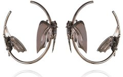 Lydia Courteille bat earrings