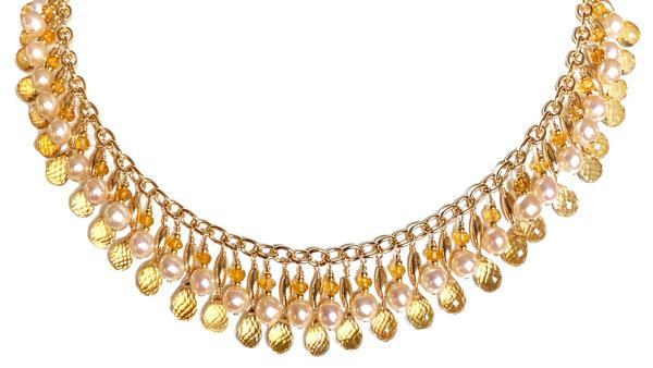 Melinda Lawton Cleopatra necklace