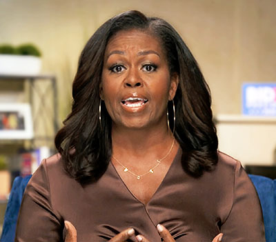 Michelle Obama at 2020 DNC