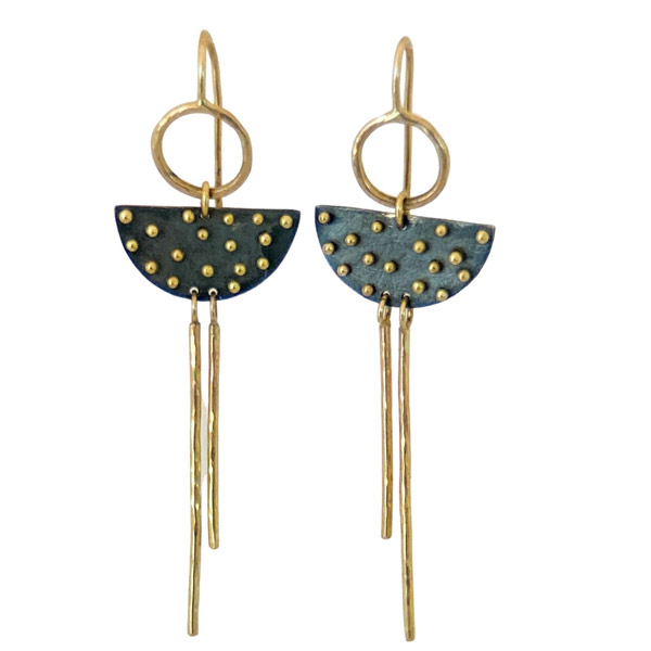 Nikki Nation drop earrings