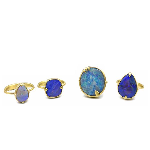 Original Eve opal rings