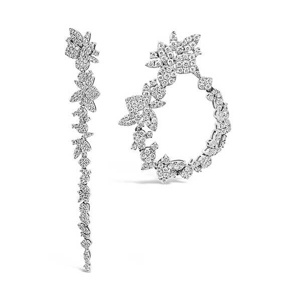 Padis Signature Collection diamond earrings