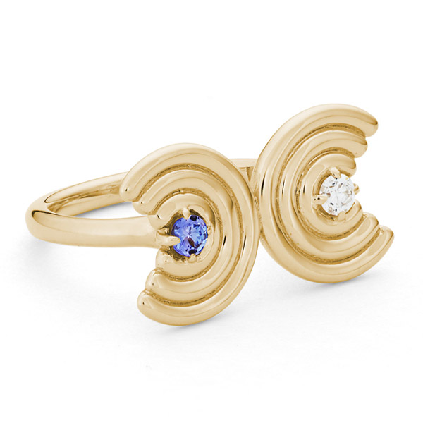 ParkFord Double Revival ring