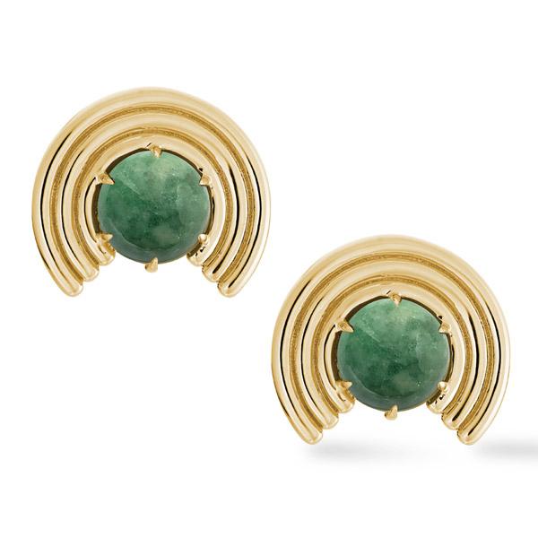 ParkFord Grand Revival jade earrings