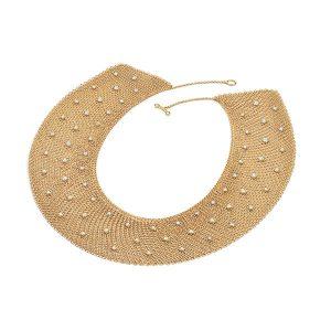 Peretti gold necklace