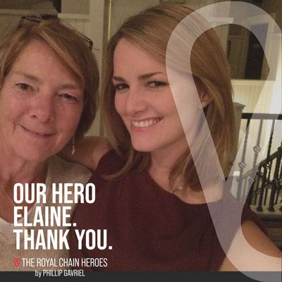 Royal Chain Hero Elaine Canty
