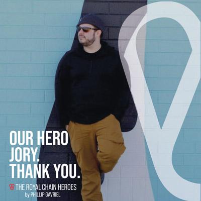 Royal Chain Hero Jory Zimmerman