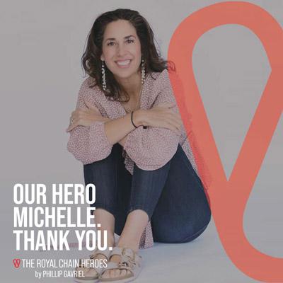 Royal Chain Hero Michelle Patterson
