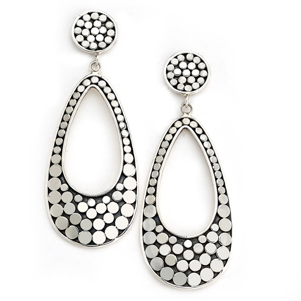 Samuel B silver earrings