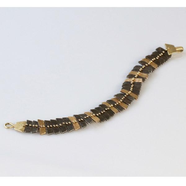 Sarah Swell fishbone bracelet