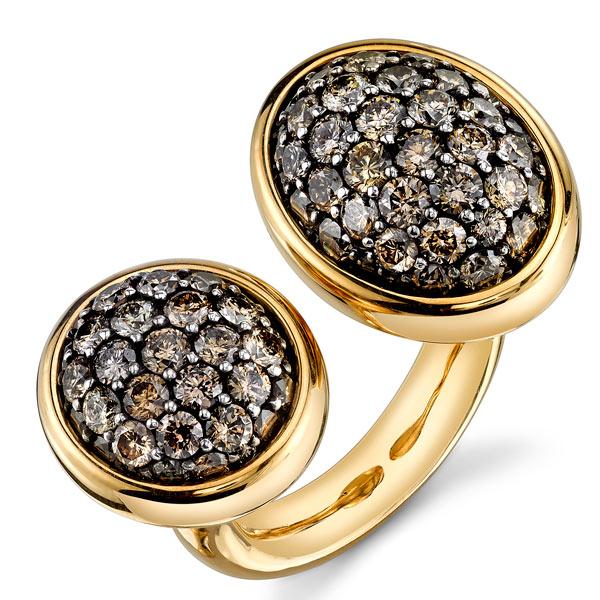 Vram 2Tau brown diamond ring