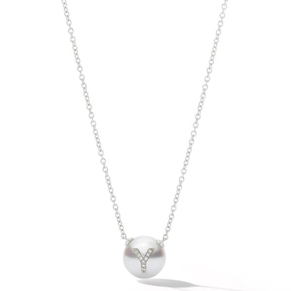 WRosado single initial pendant