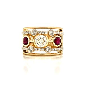 21c Ruby diamond ring