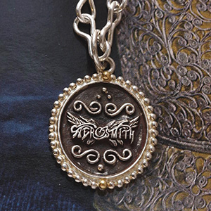 Aerosmith x Distefano necklace