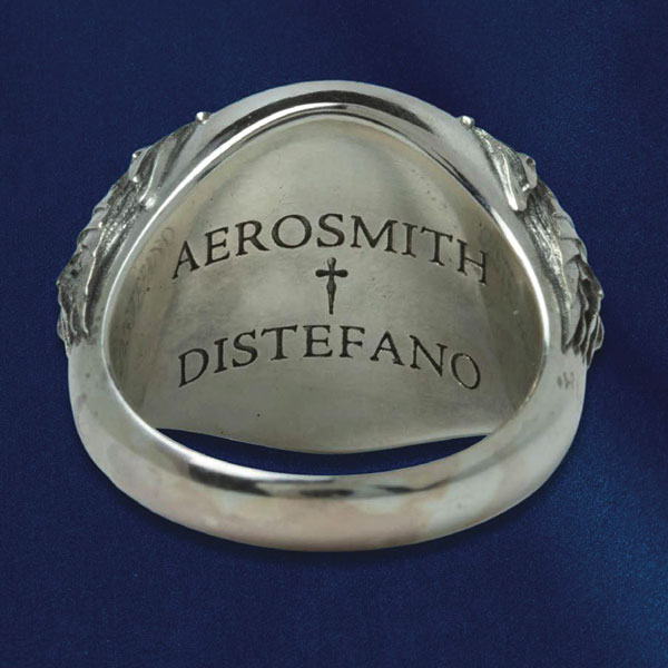 Aerosmith x Distefano ring back