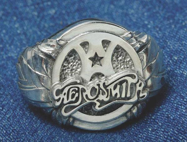 Aerosmith x Distefano signet ring