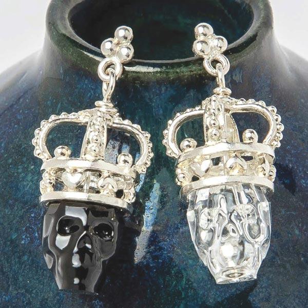 Aerosmith x Distefano Kings and Queens Earrings