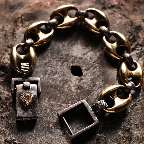 Alp Sagnak link bracelet