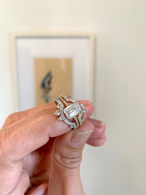 Anna Sheffield ring set