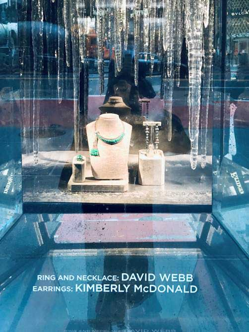 Bergdorf Goodman KMD David Webb Window