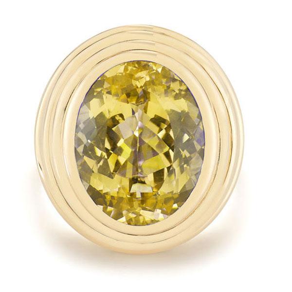 Deborah Pagani citrine ring