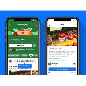 Facebook Season of Giving screenshot