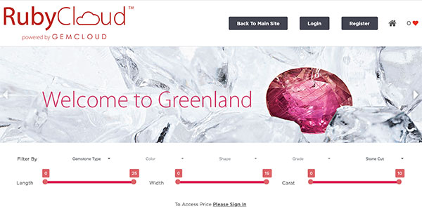 Greenland Ruby RubyCloud homepage
