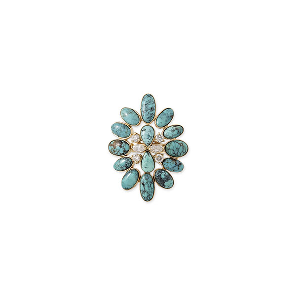 Jacquie Aiche Wildest Dreams turquoise ring