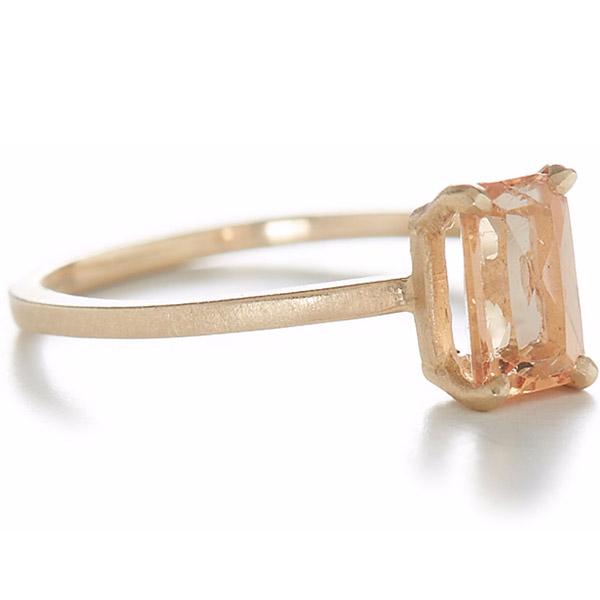 Jennifer Dawes imperial topaz ring