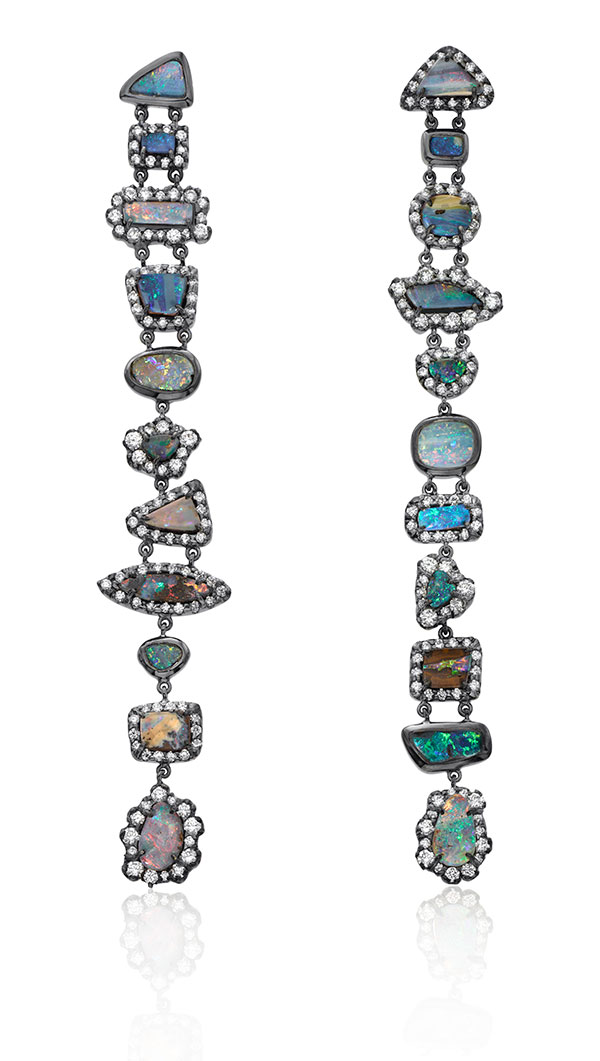 Kimberly McDonald boulder opal drop earrings