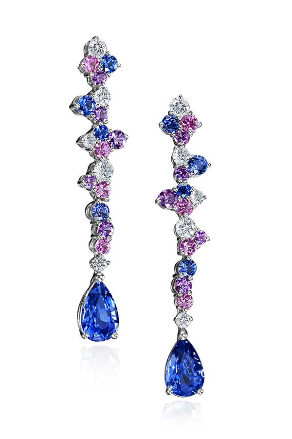 Mark Patterson Samba sapphire earrings