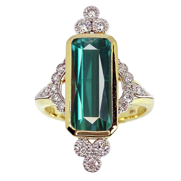 Melinda Lawton indicolite ring