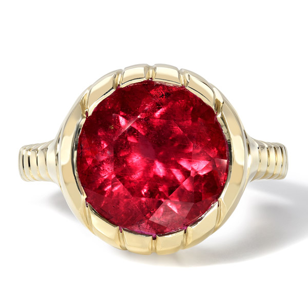Retrouvai rubellite ring