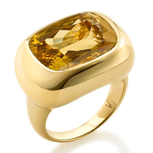 Robinson Pelham Phoenix citrine ring
