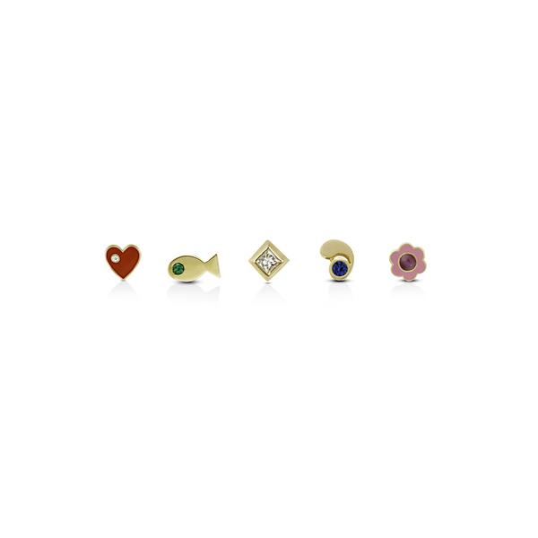 Aisha Baker stud earrings