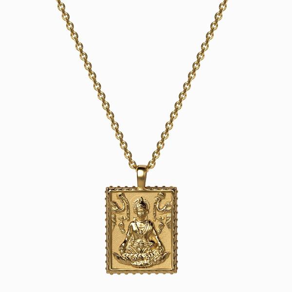 Awe Inspired Lakshmi pendant