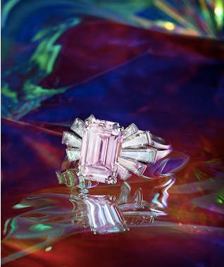 Bonhams pink ring