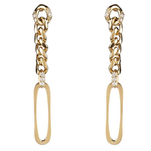Matilde Linked earrings