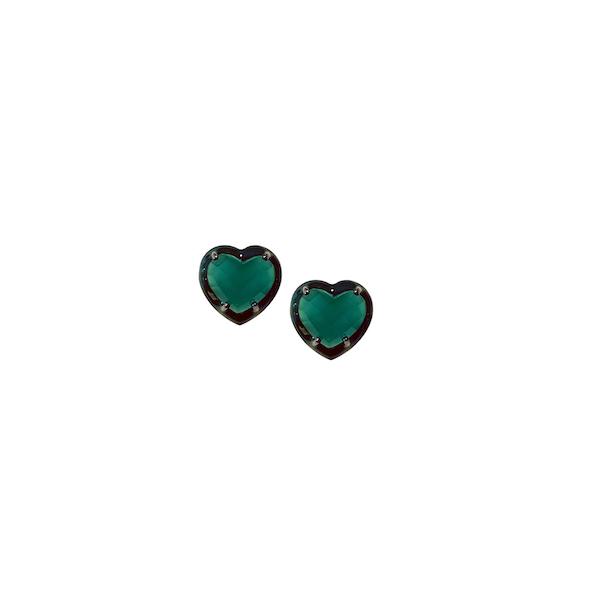 Nakard heart studs