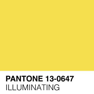 Pantone Illuminating