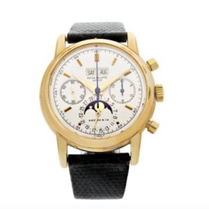 Patek gold watch