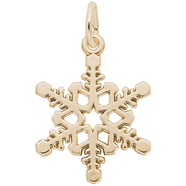 Rembrandt snowflake charm